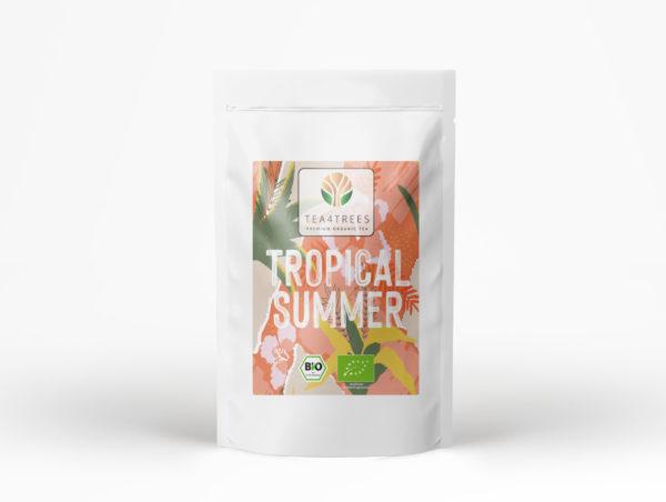 Tropical Summer grüner weißer permium bio tee