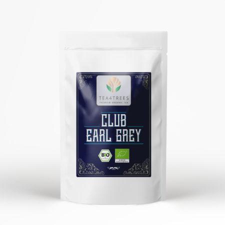 Club Earl Grey Schwarzer Bio Tee